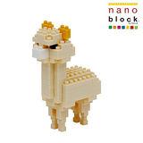 【Nano Block任選館】動物系列-米色草泥馬 (NBC-079)
