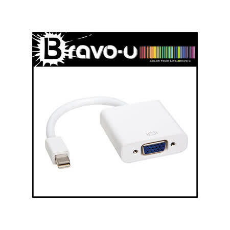 Bravo-u Mini DisplayPort 轉 VGA 轉換器