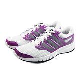 (女)ADIDAS GALACTIC ELITE W 慢跑鞋 白/紫紅-B40531