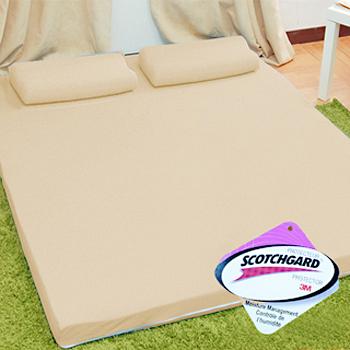 KOTAS  吸濕排汗8cm記憶床墊(雙人加大-雙色款)