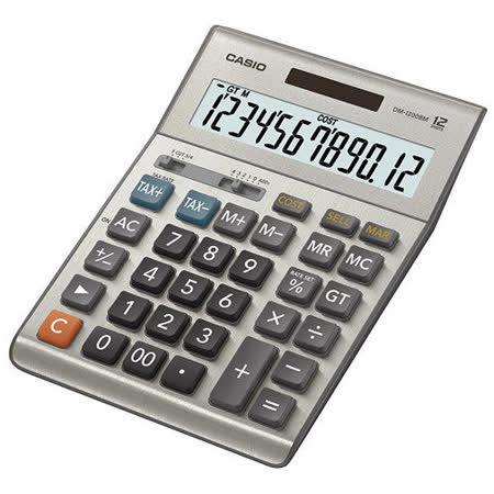 【CASIO 卡西歐】DM-1200BM 桌上型 12位 計算機太陽能稅率
