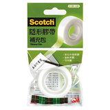 【3M Scotch 隱形膠帶】810R-15M 隱形膠帶補充包 (19mm)