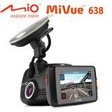 Mio MiVue 638 觸控寬螢幕GPS測速行車記錄器 加贈16G卡