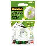 【3M Scotch 隱形膠帶】810R-10M 隱形膠帶補充包 (19mm)