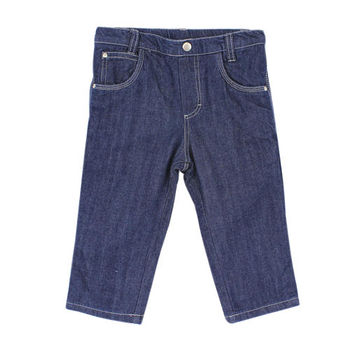 厚感純棉牛仔褲