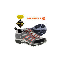 【美國 MERRELL】男新款 Moab GORE-TEX 多功能登山健走鞋_深灰 24439