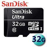 【代理商公司貨】SanDisk 32GB 30MB/s Ultra microSDHC TF UHS-I Class10 記憶卡