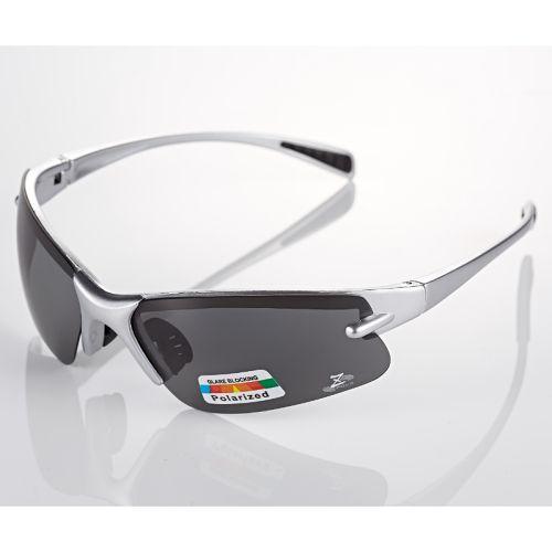 【Z-POLS專業輕巧彈性款】頂級全銀框體搭載Polarized偏光UV400運動太陽眼鏡,全新上市!!