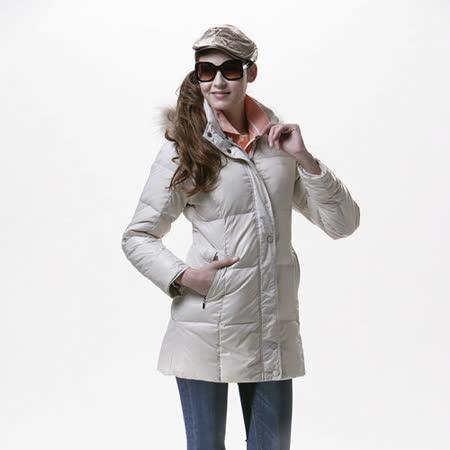 【SAIN SOU】超保暖羽絨+可拆式防風帽外套T17102