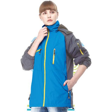 【SAIN SOU】防水/防風/透氣/可拆式防風帽外套(中性款)T17403