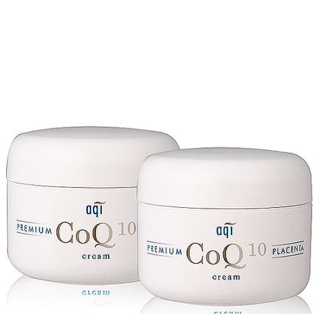 【aqi潔麗雅】 胎盤素賦活霜CoQ10 (100g *二瓶)