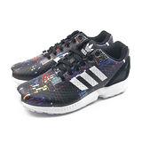 (女)ADIDAS ZX FLUX W 休閒鞋 黑-B25834