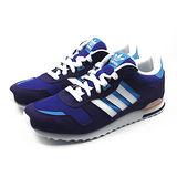 (大童)ADIDAS ZX 700 K 休閒鞋 藍-M17015