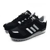 (女)ADIDAS ZX 700 W 休閒鞋 黑/白-M19419