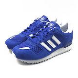 (女)ADIDAS ZX 700 W 休閒鞋 藍/白-M19420