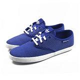 (女)ADIDAS ADRIA PS W 休閒鞋 藍/白-M19544