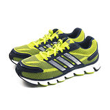 (大童)ADIDAS POWERBLAZE K 慢跑鞋 黑/螢光黃-C77799