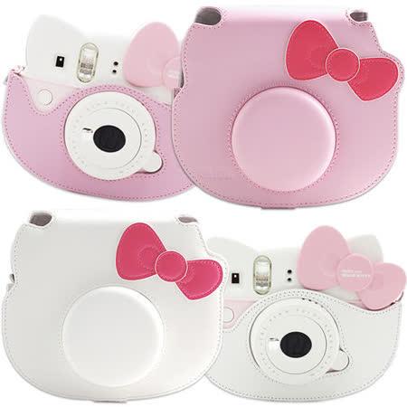 For FUJIFILM mini Hello Kitty 拍立得專用皮質相機包.