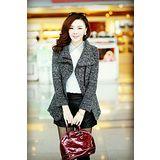 【韓系女衫】冬季新款 時尚修身大衣外套