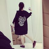 【Maya Girl】春秋(中大碼) 卡其綿料 美式風格 連帽款 七分袖 風衣版外套-黑色