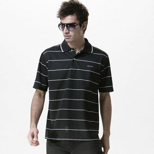 【SAIN SOU】MIT吸濕排汗短袖POLO衫(男款)T26138
