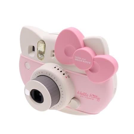 FUJIFILM instax mini HELLO KITTY 拍立得(公司貨).-內附專屬Kitty相機肩帶+Kitty貼紙+限定KITTY底片+近拍鏡+LR6 AA3號鹼性電池X2