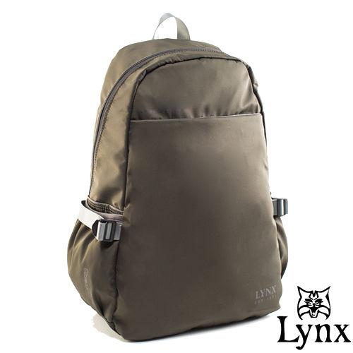 Lynx ~ 山貓城市輕遊款大容量極簡 後背包~墨綠