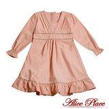 【Alice Place】古典玫瑰氣質洋裝