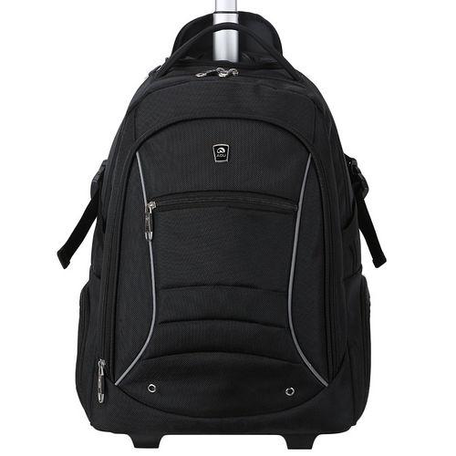 【AOU新光 百貨微笑旅行】商務型-拉桿後背包 電腦包(104-001)
