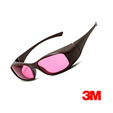3M 耐衝擊運動眼鏡(OSE 22101)紅色