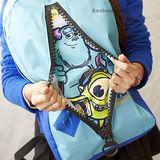 【Monsters University】怪獸大學拉鍊造型後背包