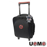 【UnME】輕型拉桿後背兩用書包(黑色)