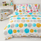 LAMINA  泡泡球-綠  雙人加大四件式床包被套組