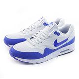 (女)NIKE WMNS AIR MAX 1 ULTRA ESENTIALS 休閒鞋 白/藍-704993002