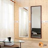 《BuyJM》造型實木超大大壁鏡/二色可選/高180*寬60