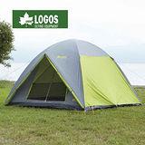 【日本 LOGOS】NEOS 綠楓270M露營帳篷/炊事帳.客廳帳蓬 71805003