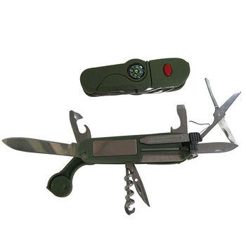 戶外求生指南針刀具組(9*1.7*2.2cm)