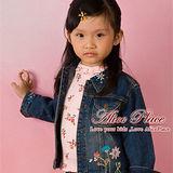 【Alice Place】牛仔繡花外套