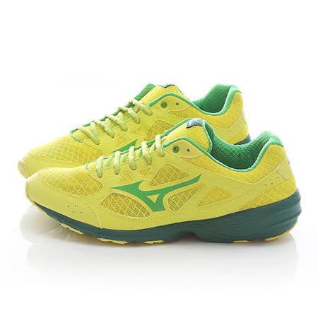MIZUNO男款 PRIMA VIVO 慢跑鞋J1GG152939-黃綠