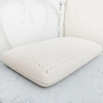 《Embrace英柏絲》天然乳膠枕 (附枕套)  傳統麵包枕