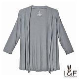 INF全尺碼 簡約輕柔薄棉外套(灰色)2127