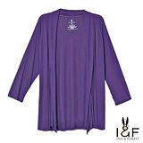 INF全尺碼 簡約輕柔薄棉外套(紫色)2127