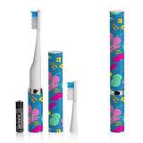 美國Violife 聲波電動牙刷-盛開花朵 VS2T712