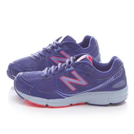 New Balance 女款 輕量運動鞋WR470IF4-藍紫