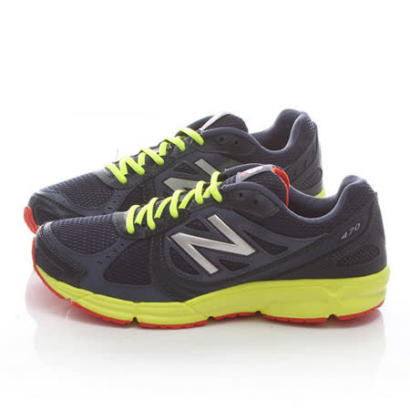 New Balance 男款 輕量運動鞋MR470OB4-藍黃