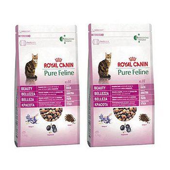 ROYAL CANIN法國皇家 PF1 亮毛四物補 貓飼料 3公斤 x 2包