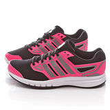 Adidas 女款GALACTIC ELITE W 慢跑鞋 B35854-黑粉