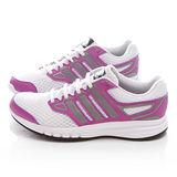 Adidas 女款GALACTIC ELITE W 慢跑鞋 B40531-白紫