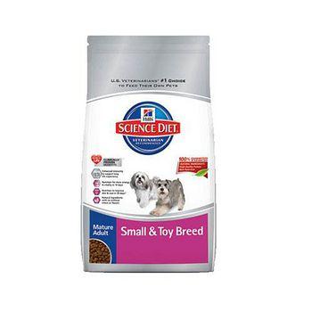 Hill's希爾思 熟齡犬 小型及迷你犬配方 老犬飼料 4.5磅 x 1包