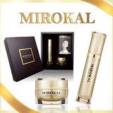 【MIROKAL米羅蔻】玻尿酸原液 + 綺肌修護霜逆齡禮盒組